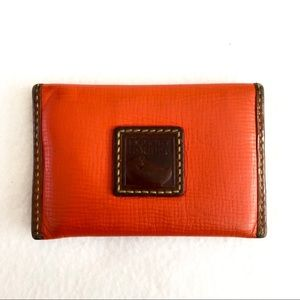 Authentic Dooney & Bourke Leather Card Holder